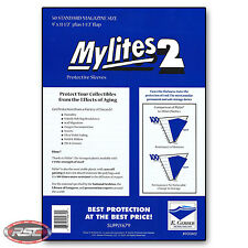 50 - Gerber MYLITES 2 STANDARD MAGAZINE Time / SI 2-Mil Mylar Bags Sleeves 900M2
