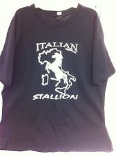 Italian Stallion Horse Shirt T-Shirt X Large Men Stallions Clothing Mens New