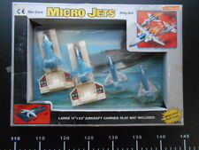 Micro Jets Ceppiratti GIG MICROMACHINES Die Cast Metal Playset micro Aircraft
