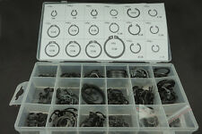 Internal & external Lock Snap Retaining ring Circlips holes Shaft collar 225PCS