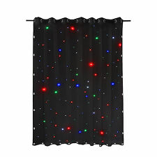 RGBW 104 LED Stage Drape Star Cloth Sky Background Lighting Effect DJ Equipment