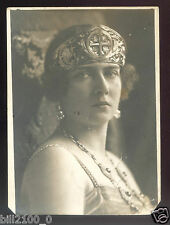 carte-photo . Princesse Elisabeth de Yougoslavie