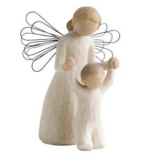 New & Boxed Willow Tree Figurine Guardian Angel   #26034