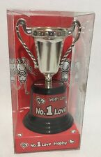 My No.1 Love Trophy - Valentines/Special Occasion Gift - Unisex - Black And Red