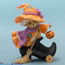 Cherished Teddies 4047369 Witch Inside Boot LE New 2015