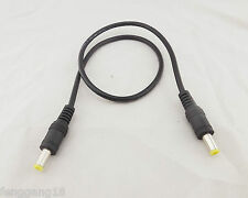 CCTV DC Power Adapter Cord 5.5mm x 2.1mm Male to Male Plug Extension Cable 50cm