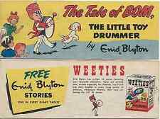 WEETIES AUSTRALIA CEREAL GIVEAWAY PROMO ENID BLYTON TALE OF BOM MINI COMIC VG