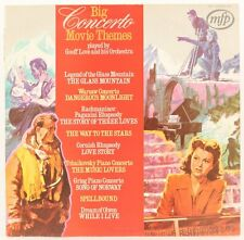 Big Concerto Movie Themes  Geoff Love And His Orchestra Vinyl Record