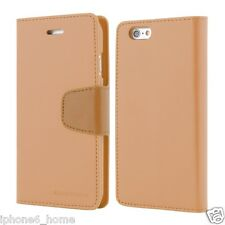 Genuine MERCURY Goospery Leather Wallet Flip Case Cover For Apple iPhone 5/5s/SE