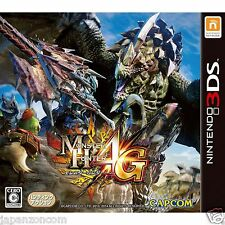 Used Nintendo 3DS Monster Hunter 4G  NINTENDO 3DS JAPANESE  IMPORT