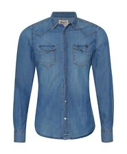 DIESEL SONORA 0HAAG DENIM SHIRT SIZE L 100% AUTHENTIC