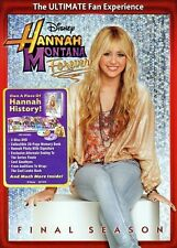 Hannah Montana: Forever - The Final Season [2 Discs (2011, DVD NEW) WS2 DISC SET