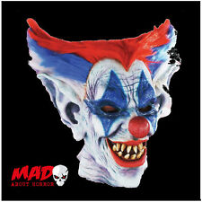 OUTTA CONTROL Evil Killer Clown Latex Mask - for Mens Halloween Costume SCARY!