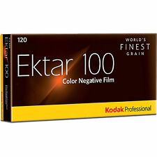 20 Rolls Kodak Ektar 100 120 Pro Color Negative Film FRESH (11/2017) + FREE SHIP