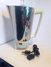 Vntg 9 C Presto SUPER SPEED Automatic PERCOLATOR PKO1B Electric Coffee Maker Pot