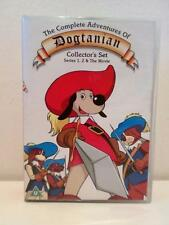 VINTAGE CARTOON TV SHOW dogtanian Series 1 & 2 COLLEZIONE COMPLETA DVD intelligente