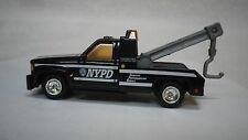 2016 Matchbox Black NYPD Chevy Tow Truck Hot Wheels Custom Real Riders