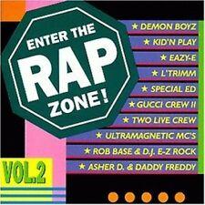 Enter the Rap Zone 2 Rob Base & DJ E-Z Rock, Demon Boyz, Two Live Crew.. [CD]