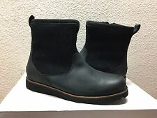 UGG MEN HENDREN TL BLACK WATERPROOF LEATHER Boot US 11 / EU 44.5 / UK 10 - NIB