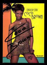 Coco Brown Autogrammkarte Original Signiert # BC 91405