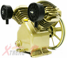 11.2 CFM 120 PSI TWIN CYLINDER AIR COMPRESSOR PUMP For 3HP  MOTOR Replacement