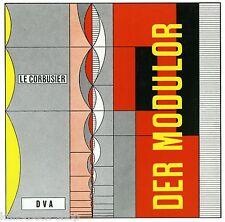 Fachbuch Le Corbusier, Der Modulor, Maßstab in Architektur und Technik, NEU, OVP