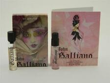John Galliano EDP Mini Roll On & EDT Vial Sample Set (Lot of 2 Vials)