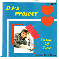 "DJ's PROJECT - Vision of Love ★ 7"" Vinyl Single"