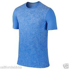 NIKE Air Jordan Dub Zero Laser Top T-Shirt sz L Large Legend Blue XI 11 Retro
