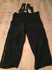 Genuine US Military Black Polartec Fleece Overalls Cold Weather**X-LG-Short/Reg