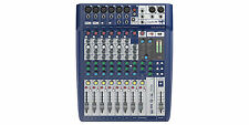 Soundcraft Signature 10 Small Format 10 Input Audio Mixer Ghost Mic Preamps