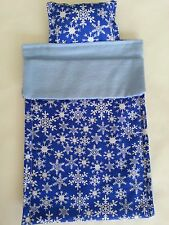Christmas elf sleeping bag. sleeping bag.Doll Bed set. Hand-made craft in the US