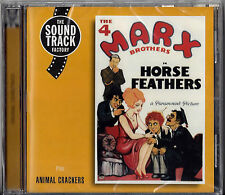 """Marx Brothers """"HORSE FEATHERS"""" and """"ANIMAL CRACKERS"""" (New) Spanish Import CD"""