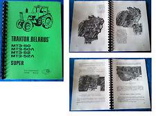 BELARUS MTS 50 / MTS 52 HANDBUCH MTS50 MTS52 FORTSCHRITT REPARATURANLEITUNG IFA
