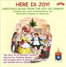 HERE IS JOY!: CHRISTMAS MUSIC FROM THE CITY OF LONDON NEW CD