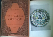 décoration marocaine Nézière MAROC FES SAFI MAROCAIN ART TAPIS CERAMIQUE BERBERE