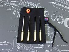 .223 6pc ROLL PIN STARTER PUNCH SET w POUCH + MAGNETIZER gunsmith punches