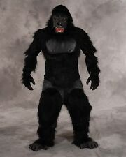New Two-Bit Roar Adult Gorilla Suit - Moving Mouth Mask (KING KONG Full Costume)