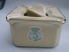 Extremely Rare ASHTRAY. Cie STEAM NAVIGATION FRENCH MAGAZINES MEETING 1900 '