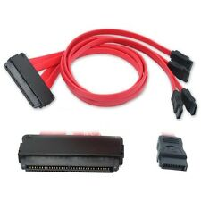 50CM SAS 32-pin SFF-8484 to SATA M-M by BattleBorn Plane Cable