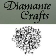 144 ss20 Clear Diamante 5mm Iron On Hotfix Rhinestone Embellishment Loose Gems