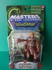"MASTERS OF THE UNIVERSE VS SNAKEMEN ""SNAKE HUNTER HE-MAN"" 6""IN FIGURE"
