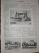 Printed photos Rudyard Kipling house Cardinal Manning's school Rottingdean 1899