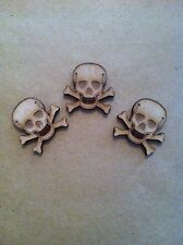 X10 Skull and Cross Bones, Pirate, crafts, cardmaking, embellishment