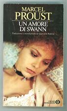 PROUST MARCEL UN AMORE DI SWANN MONDADORI 1988 OSCAR ALLA RICERCA TEMPO PERDUTO