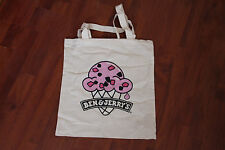 BEN AND JERRY'S ICE CREAM PROMOTIONAL UNUSED COTTON BAG, *** FREE P&P.