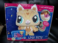 Littlest Pet Shop Lpso Virtual Online Pets Golden Kitty NEW