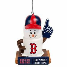 Boston Red Sox Smores Christmas Tree Holiday Ornament New Hit Smore Home Runs