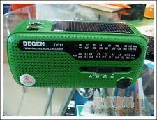 Neuf DE13 Crank Dynamo Solar Emergency AM FM SW world Radio récepteur monde