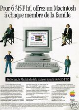 Publicité advertising 1994 Ordinateur Macintosh Performa